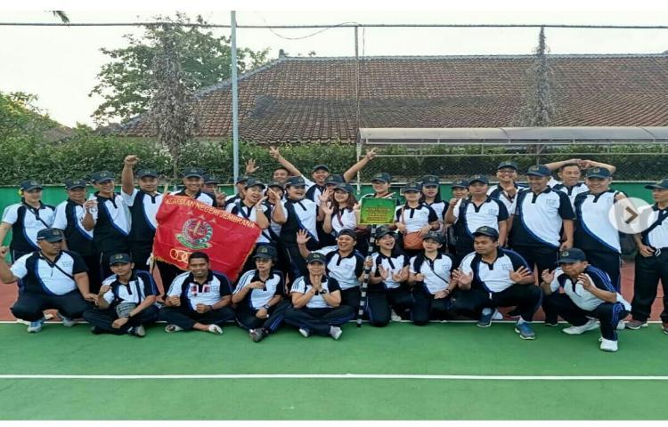 Pembukaan Pekan Olahraga HUT HBA yang ke-59 di Kejaksaan Tinggi Bali.